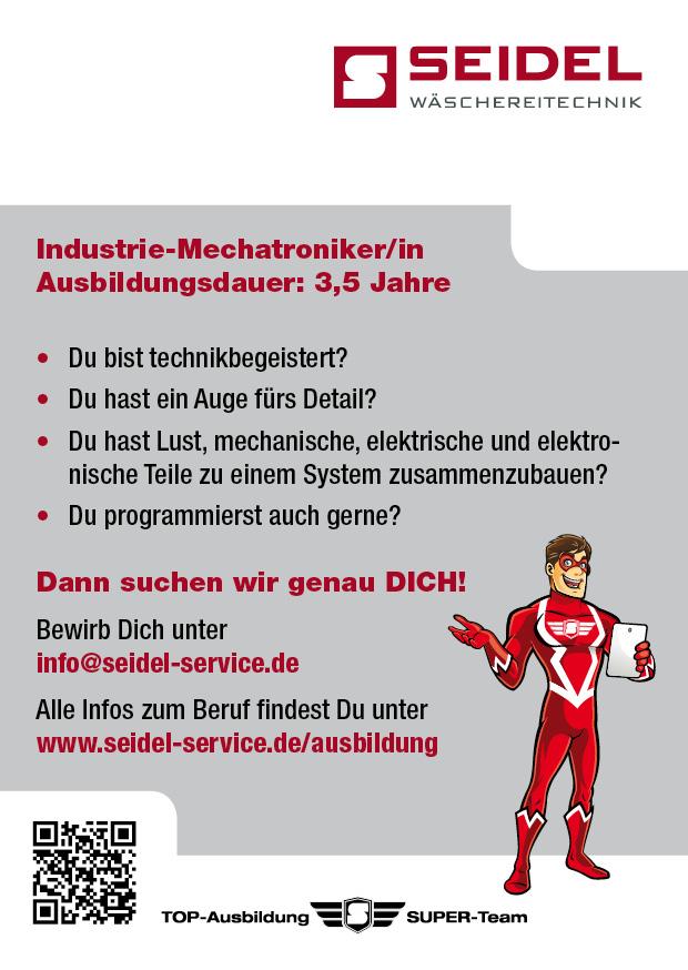 Ausbildung Industrie-Mechatroniker/in
